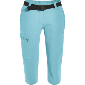 Maier Sports Inara Slim 3/4 Pants Women blue topaz